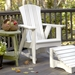 Uwharrie Chair Carolina Preserves Solo Lounge Set w/ Arm Chair   - UW-CAROLINA-SET5