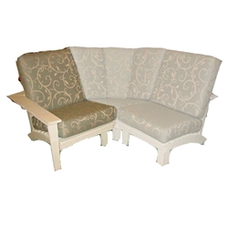 Uwharrie Chair Chat Sectional Left Side Facing Chair - 9015LSF