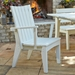 Hourglass Outdoor Dining Set for 8 - UW-HOURGLASS-SET2