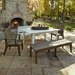 Uwharrie Chair Hourglass Outdoor Dining Set for 8 - UW-HOURGLASS-SET2