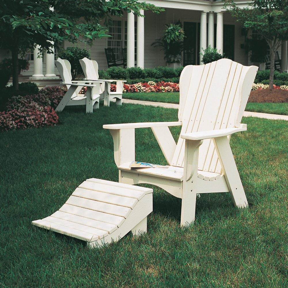 Uwharrie Chair Plantation Solo Lounge Chair Set - UW-PLANTATION-SET2