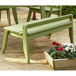 Uwharrie Chair Plaza Two-Seat Bench without Back - P097