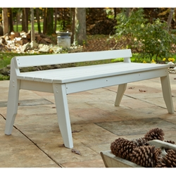 Uwharrie Chair Plaza Three-Seat Bench without Back - P098