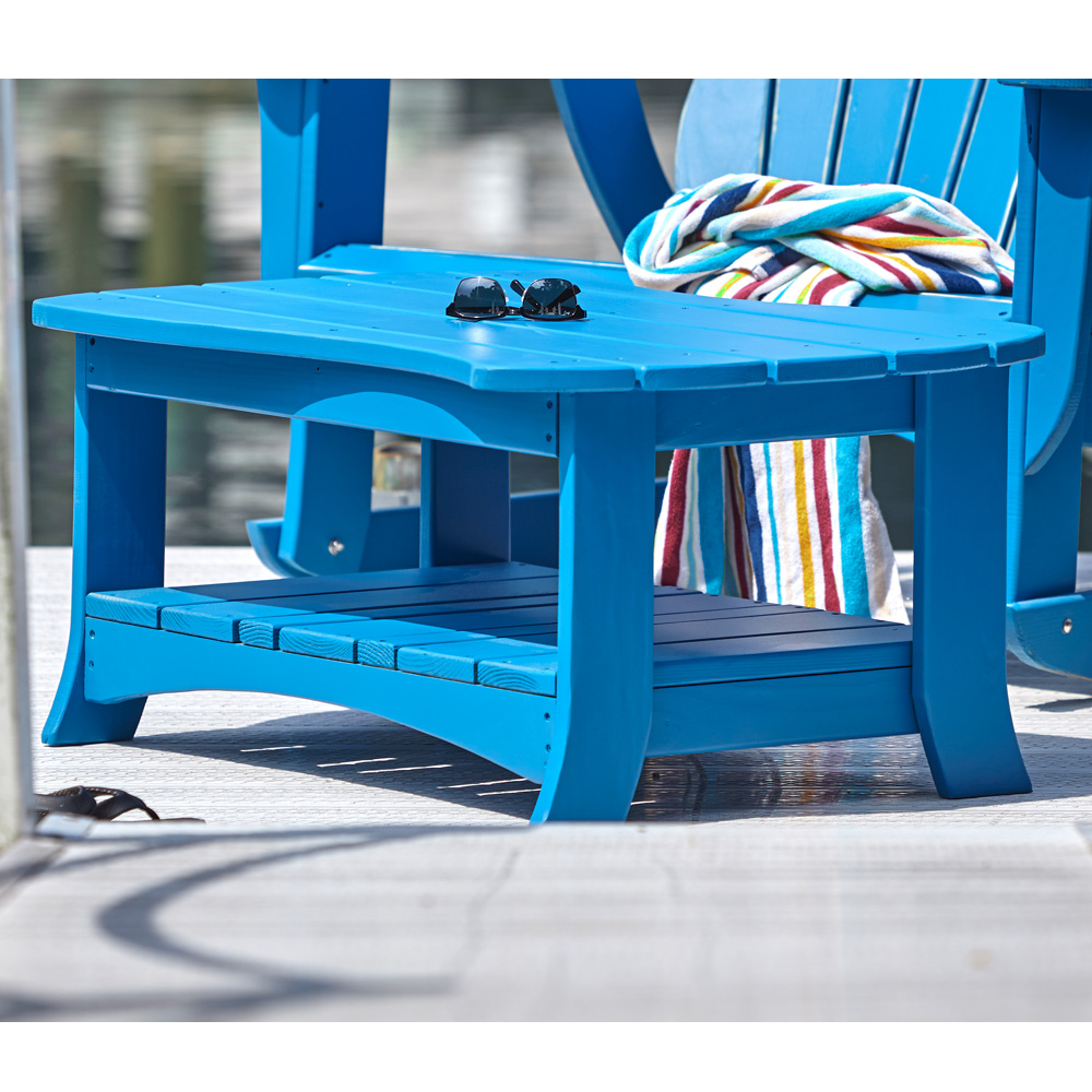 Uwharrie Chair Wave Cocktail Table - 7041