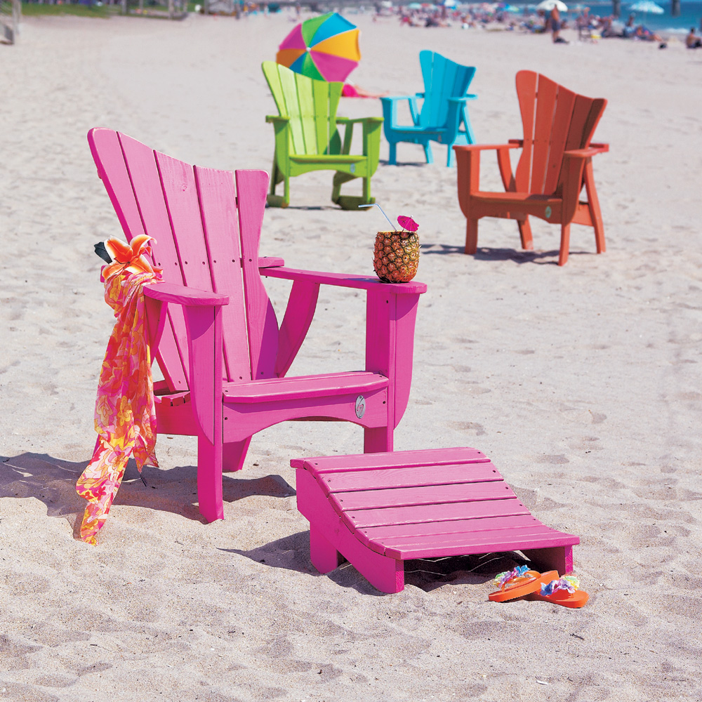 Uwharrie Chair Wave Solo Lounge Chair Set - UW-WAVE-SET1