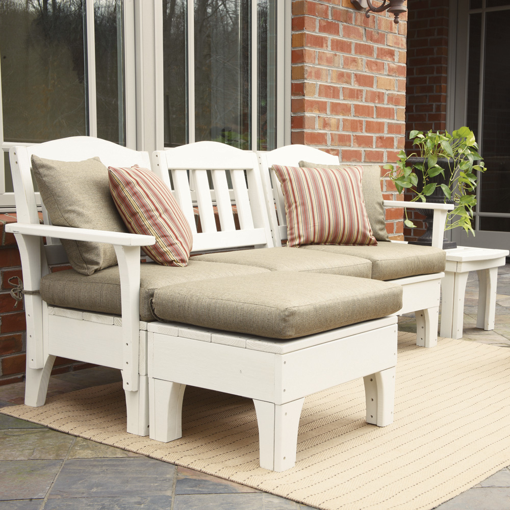 Westport Small Patio Sectional Set