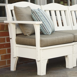 Uwharrie Chair Westport Left Side Facing Chair - W015L