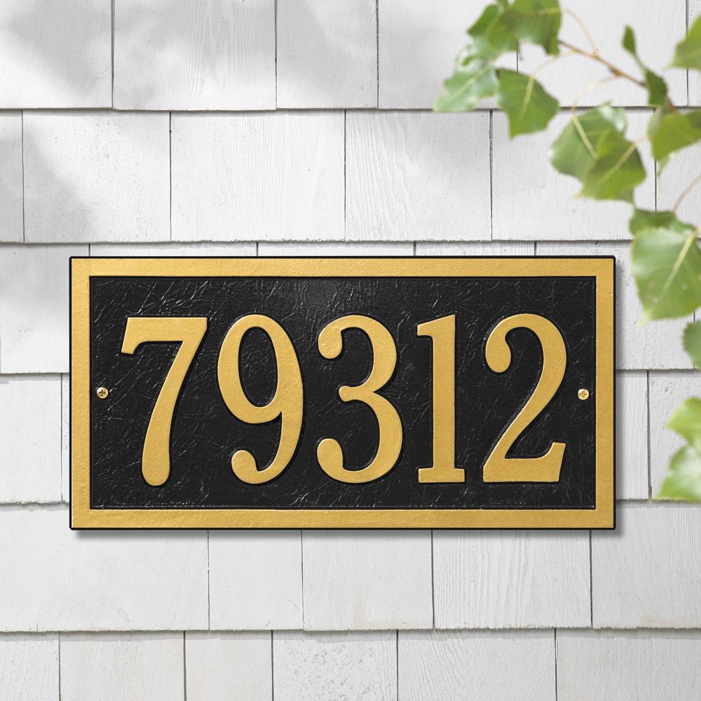 Whitehall Wedding Plaque Standard Wall Address Plaque