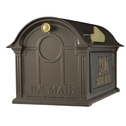 Whitehall Balmoral Mailbox Side Plaques Package in Bronze