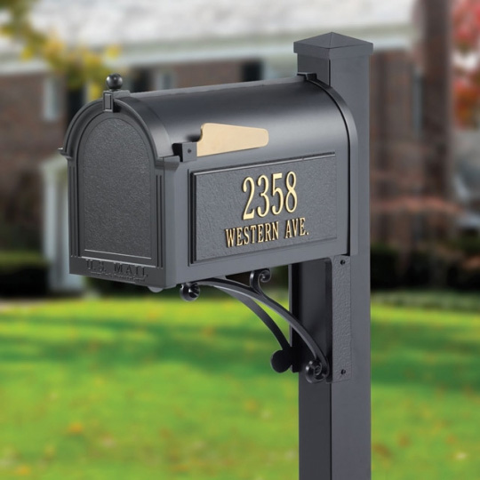 Whitehall Capital Mailbox- Superior Package - 163-06-08-07-25