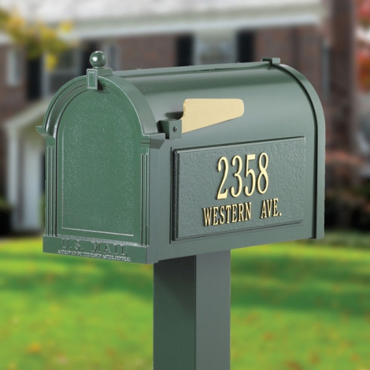 Whitehall Capital Mailbox- Premium Package - 163-09-11-26-10