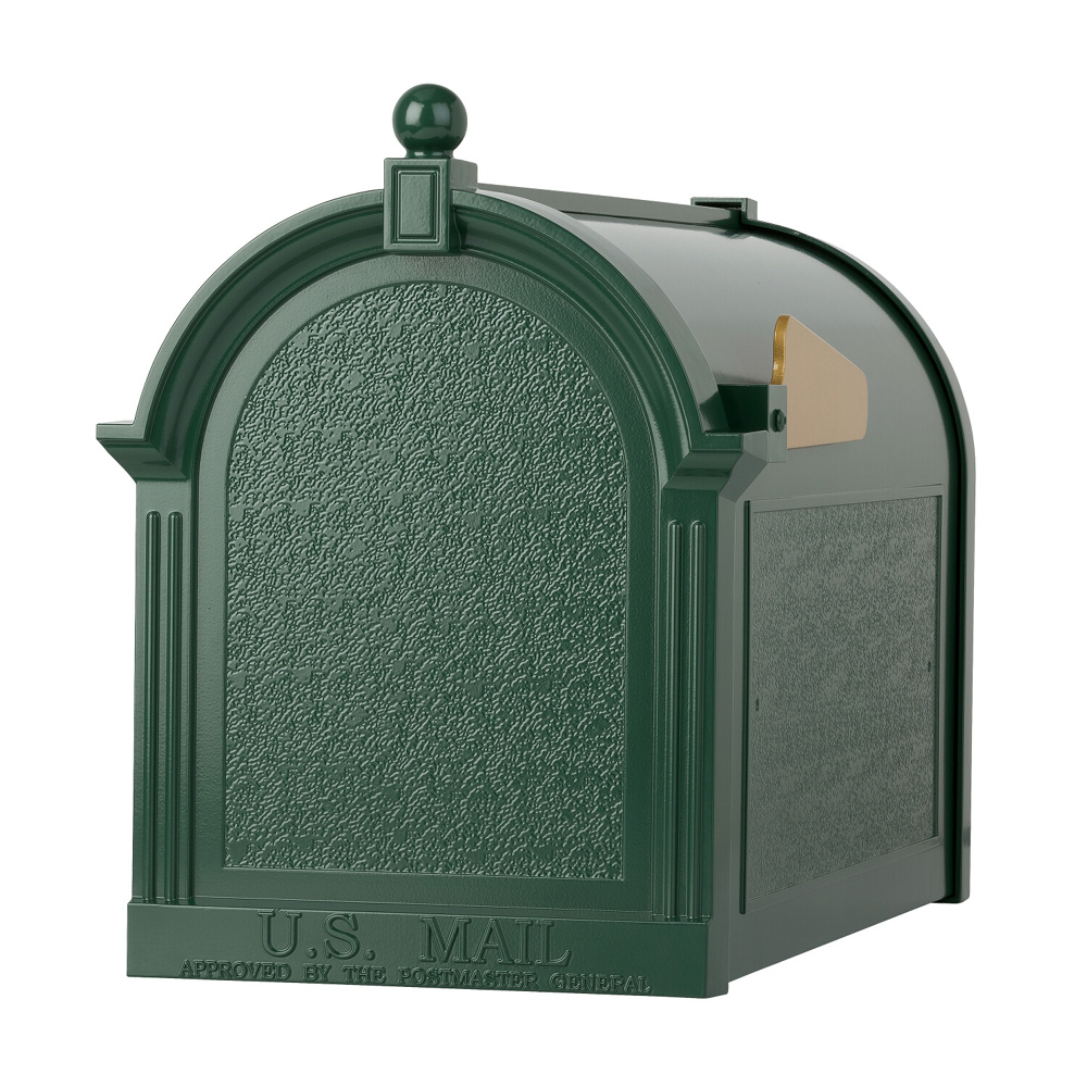 Whitehall Capitol Mailbox in Green