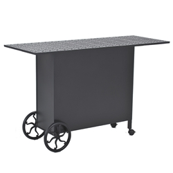 Windham Rolls Roy 70 Inch x 22 Inch Cast Top Bar Table  - 7070