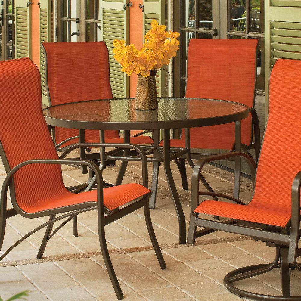 """Windward Acrylic 30"""" Round Balcony Table   WT3018-36A"""