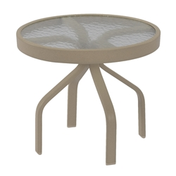 "Windward Acrylic 24"" Round Side Table - WT2418A"