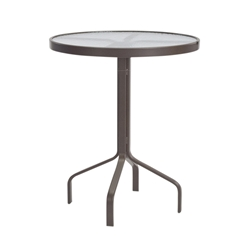 "Windward Acrylic 30"" Round Balcony Table - WT3018-36A"