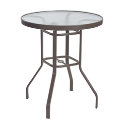 "Windward Acrylic 36"" Round Balcony Table - WT3618-36A"