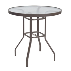 "Windward Acrylic 42"" Round Balcony Table - WT4218-36A"