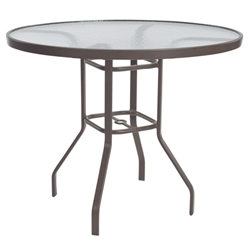 "Windward Acrylic 48"" Round Balcony Table - WT4818-36A"