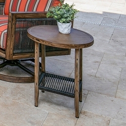 "Windward Belize 20"" Round Side Table - WT20W36"