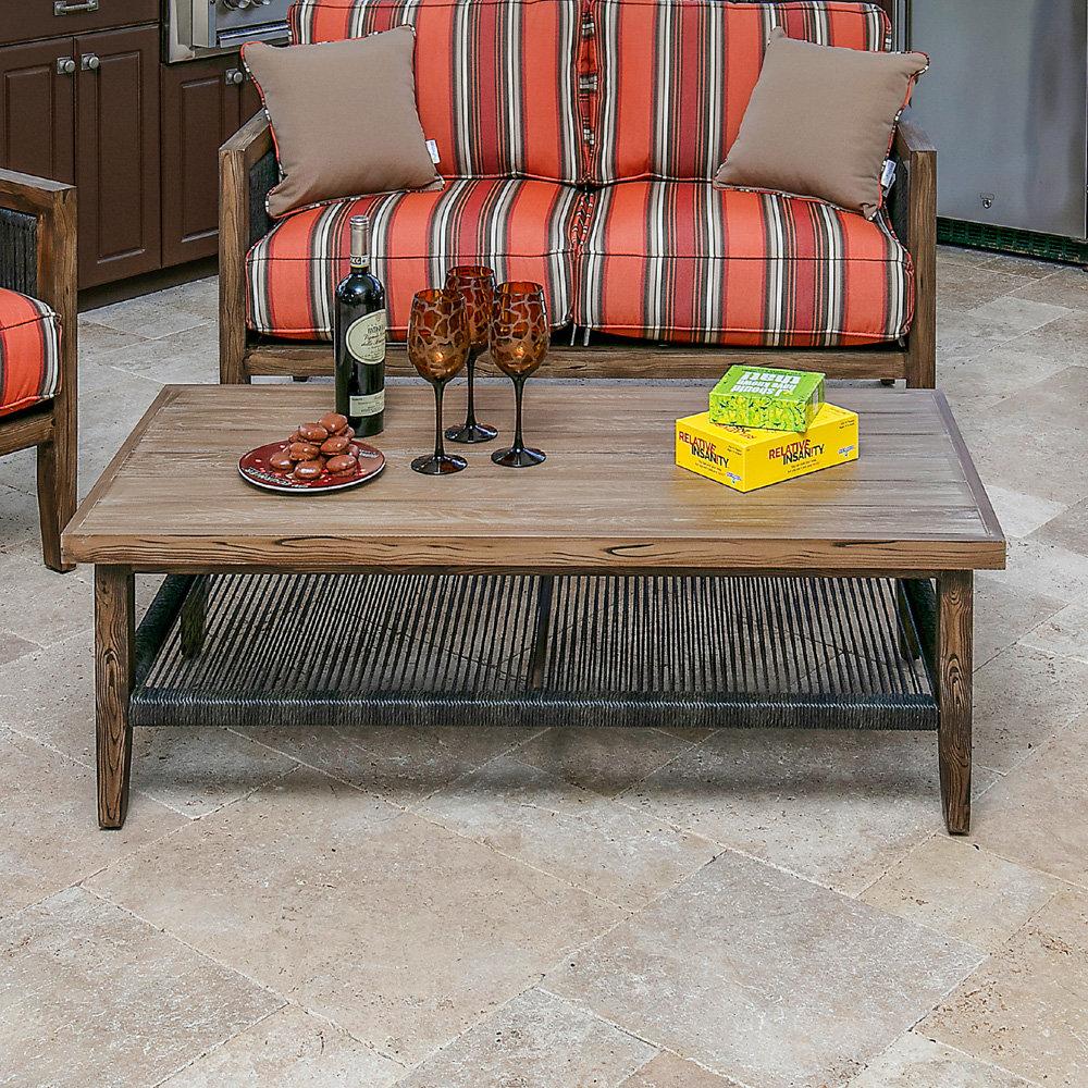 Windward Belize 25 X 50 Rectangle Coffee Table Wt5025w36