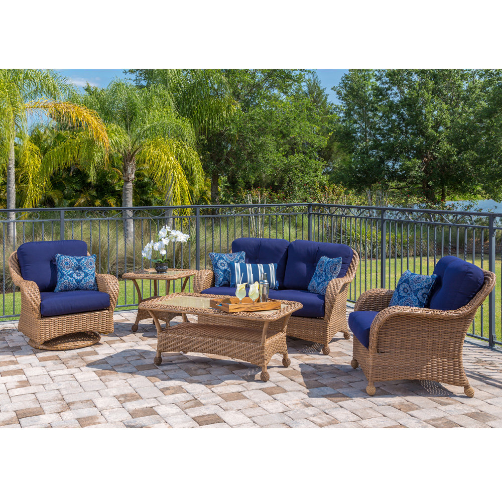 Carolina Outdoor Wicker Furniture Set