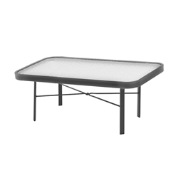 "Windward Glass 18"" x 34"" Rectangular Cocktail Table - WT1834-18G"