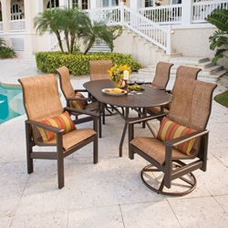 Windward Hampton MGP Sling Outdoor Dining Set for 6 - WW-HAMPTON-SET1