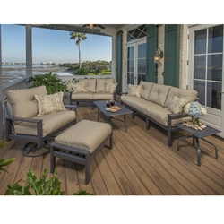 Windward Hampton MGP Deep Seating Outdoor Furniture Set - WW-HAMPTON-SET3