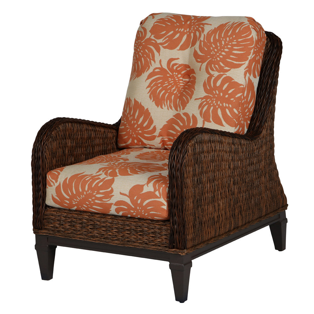 Windward Havana Outdoor Wicker Set With Sofa And Lounge