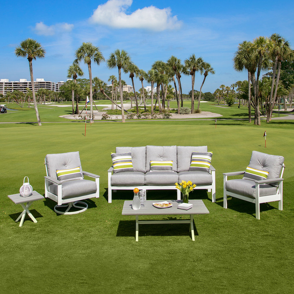Windward Oxford Deep Seating Sofa And Lounge Chair Outdoor