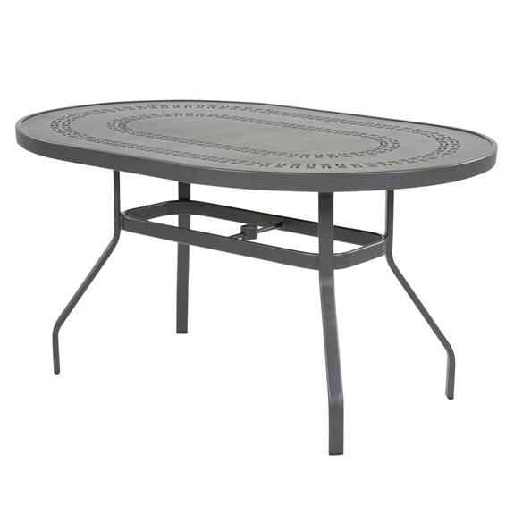 Windward Mayan Aluminum 36 X 54 Oval Dining Table Kd3654 18myn