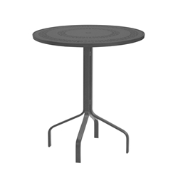 "Windward Mayan Aluminum 30"" Round Balcony Table - WT3018-36MYN"