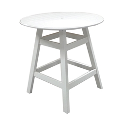 "Windward MGP 36"" Round Balcony Table with Kingston Base - KD3605-36"