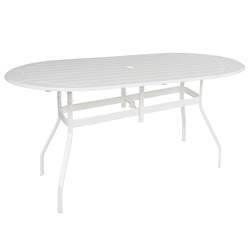 "Windward MGP 42"" x 76"" Oval Balcony Table - KD4276-36"