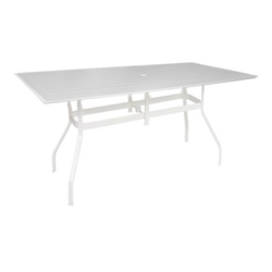 "Windward MGP 42"" x 76"" Rectangular Balcony Table - KD4276-36S"