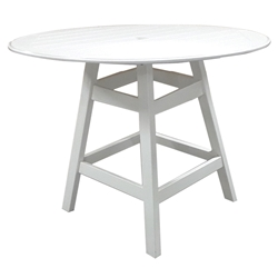 "Windward MGP 48"" Round Balcony Table with Kingston Base - KD4805-36"