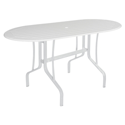 "Windward MGP 30"" x 60"" Oval Balcony Table - WT3060-36"