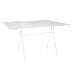 "Windward MGP 30"" x 60"" Rectangular Balcony Table - WT3060-36S"