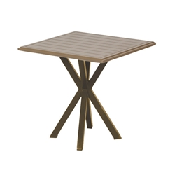 "Windward MGP 19"" Square Side Table with X-Base - WT1925S"