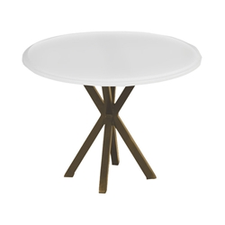 "Windward MGP 20"" Round Side Table with X-Base - WT2025"