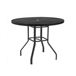 "Windward Napa Aluminum 42"" Round Balcony Table - KD4218-36NAU"