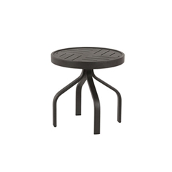 "Windward Napa Aluminum 18"" Round Side Table - WT1818NA"