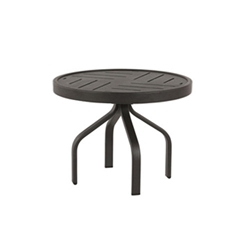 "Windward Napa Aluminum 24"" Round Side Table - WT2418NA"