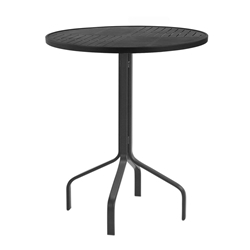 "Windward Napa Aluminum 30"" Round Balcony Table - WT3018-36NA"