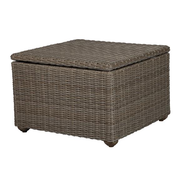 Windward Oxford Wicker Storage Coffee Table
