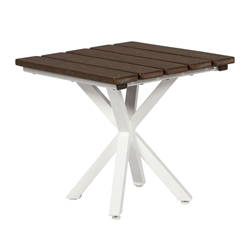 "Windward Tahoe Plank 19"" Square Side Table - WT1925STP"