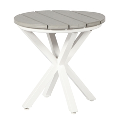 "Windward Tahoe Plank 20"" Round Side Table - WT2025TP"