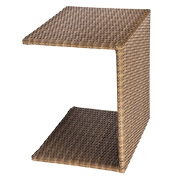 Woodard All Weather Wicker Universal C Table - S593201