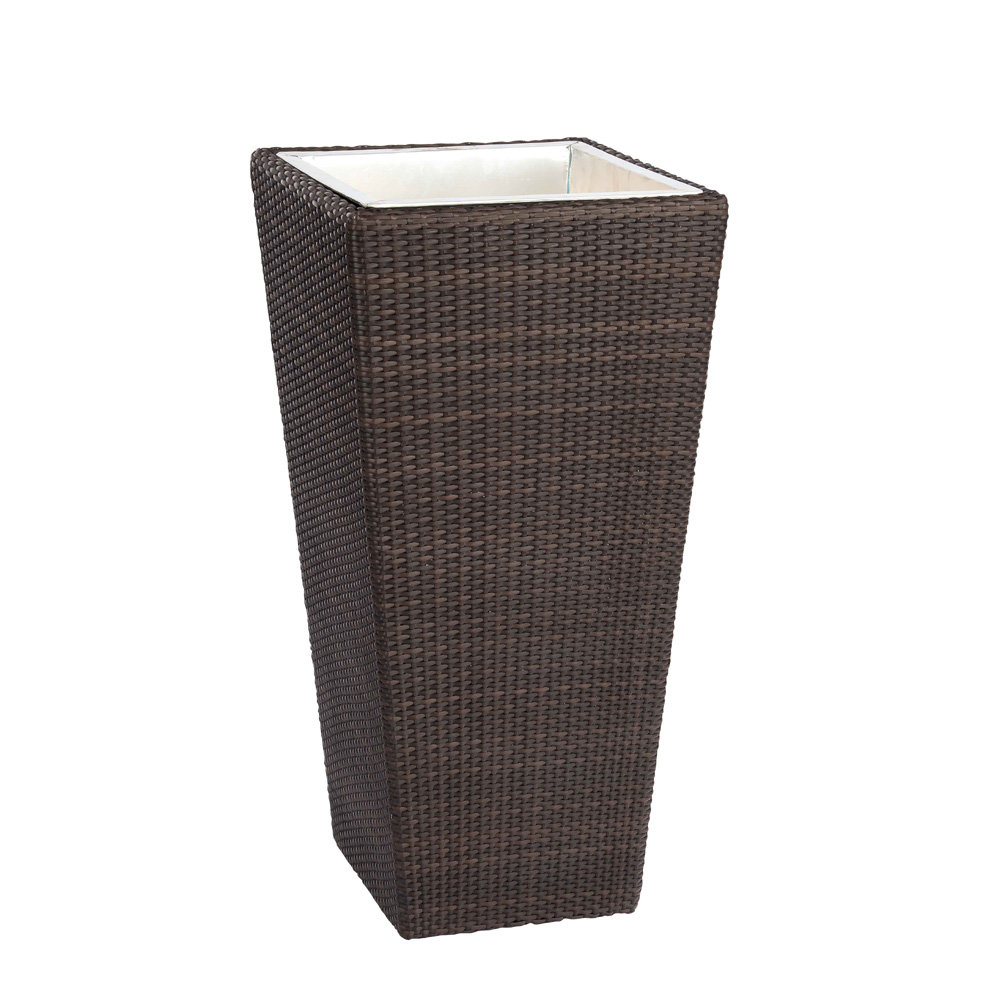 Woodard All Weather Wicker Medium Planter - S593302M